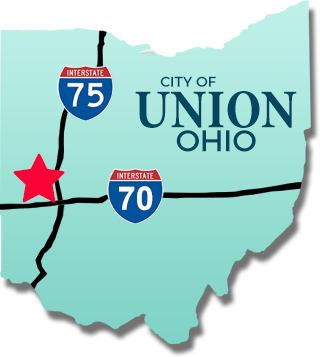 Union OH map